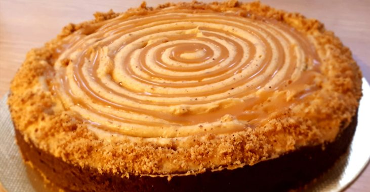torta de laranja granola saudável light receita