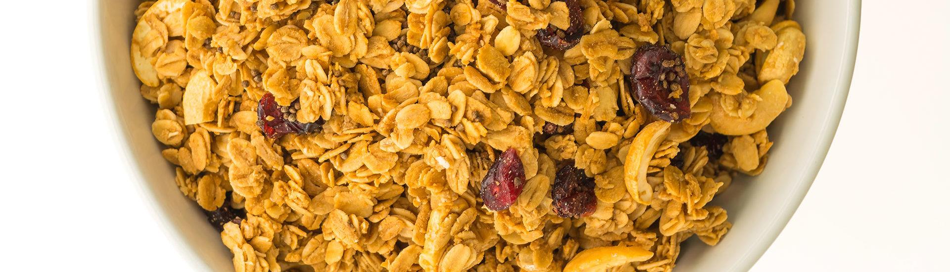 história da granola feinkost alimentos saudáveis